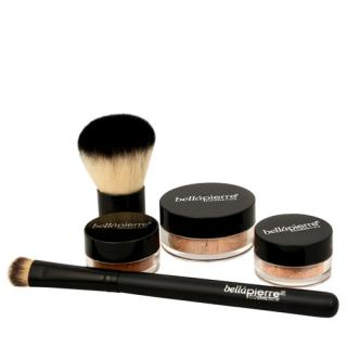 bellápierre Kosmetická sada All Over Face (Contour and Highlighting Kit) Medium