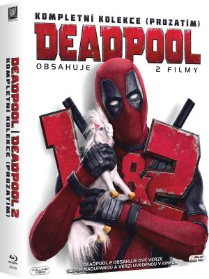 Blu-ray Deadpool 1&2 (2xBD)
