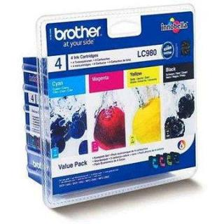 Brother LC-980 Value Pack (LC980VALBP)