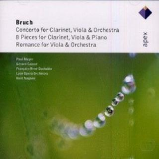 Bruch : Works For Clarinet and Viola CD