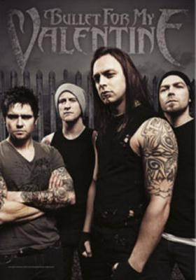 Bullet For My Valentine- Band Phot, vlajka Vlajka
