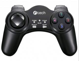 C-TECH Gamepad Nyx, 1,8m kabel, USB, 13 tlačítek, GP-04