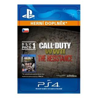 Call of Duty: WWII - The Resistance: DLC Pack 1 - PS4 CZ Digital