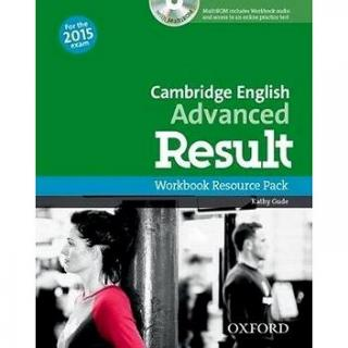Cambridge English Advanced Result Workbook without Key with Audio CD (9780194512350)