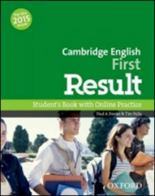 Cambridge English First Result Student´s Book with Online Practice Test - Davies P.A., Falla T.