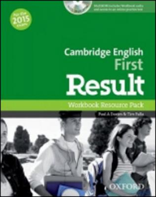 Cambridge English First Result Workbook without Key with Audio CD - Davies P.A., Falla T.