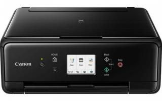 Canon PIXMA TS6250 - PSC/Wi-Fi/WiFi-Direct/BT/Duplex/PictBridge/4800x1200/USB black, 2986C006