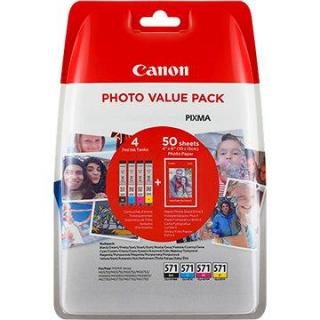 Canon XL CLI-571 C/M/Y/BK PHOTO VALUE Multi pack
