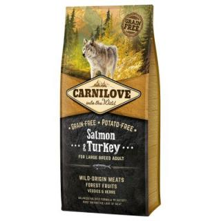 Carnilove Adult Large Breed Salmon & Turkey - 12 kg
