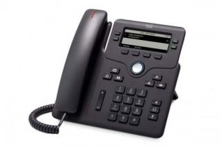 Cisco IP Phone 6851 with power adapter, CP-6851-3PW-CE-K9=