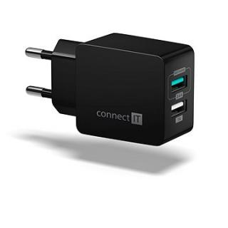 CONNECT IT Fast Charge CWC-2015-BK černá (CWC-2015-BK)