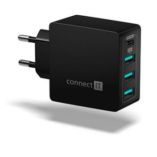 CONNECT IT Fast Charge CWC-4060-BK černá (CWC-4060-BK)