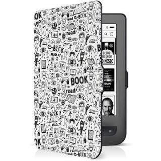 CONNECT IT pro PocketBook 624/626, Doodle White (CEB-1069-WH)