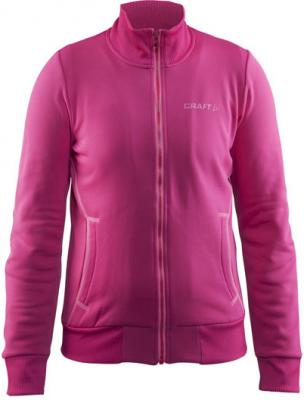CRAFT Flex Full Zip Junior 1904597 122/128 / Růžová