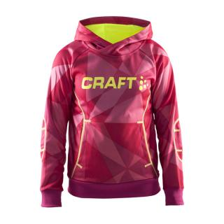 CRAFT Flex Hood Junior 1902888 158/164 / Růžová