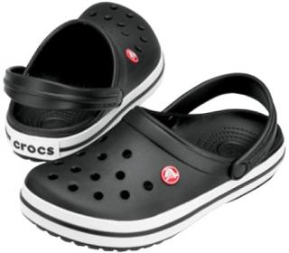 Crocs Pantofle Crocband Black 11016-001 43-44