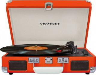Crosley - Cruiser Deluxe / Orange, gramofon Gramofon