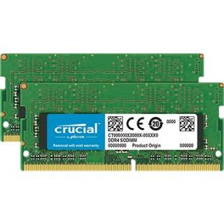 Crucial SO-DIMM 8GB KIT DDR4 2666MHz CL19 Single Ranked (CT2K4G4SFS8266)