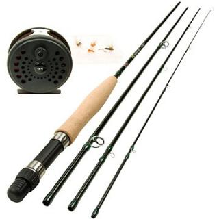 DAM Forrester Fly Allround Fly Fishing Set 8ks (4044641112124)