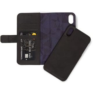 Decoded Leather 2in1 Wallet Black iPhone XR (D8IPO61DW1BK)