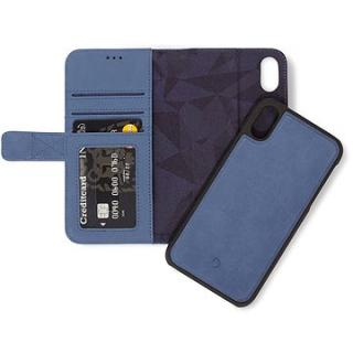 Decoded Leather 2in1 Wallet Blue iPhone XS Max (D8IPO65DW1LB)