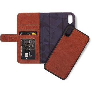 Decoded Leather 2in1 Wallet Brown iPhone XS Max (D8IPO65DW1CBN)