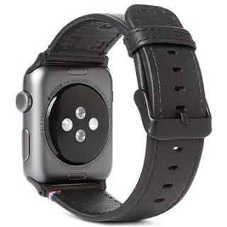 Decoded Leather Strap Black Apple Watch 44/42 mm (D8AW42SP1BK)