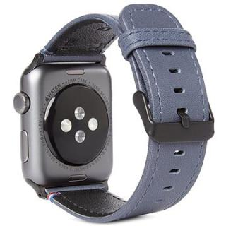 Decoded Leather Strap Blue Apple Watch 44/42 mm (D8AW42SP1DB)