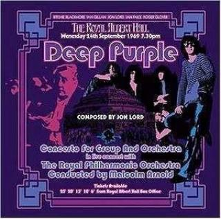 Deep Purple : Concerto For Group & Orchestra - 2002 Remix/remaster LP