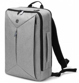 Dicota Backpack Dual Edge 15.6 backpack for notebook and clothes, light grey, D31527