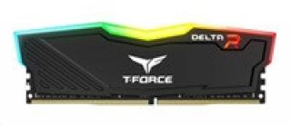 DIMM DDR4 16GB 2666MHz, CL15, (KIT 2x8GB), TEAM T-FORCE Delta RGB (Black)
