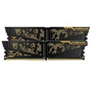DIMM DDR4 16GB 3200MHz, CL16, (KIT 2x8GB), TEAM T-FORCE VULVAN TUF Gaming Alliance, TLTYD416G3200HC16CDC01