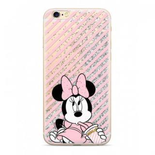 Disney Minnie 017 Glitter Back Cover Silver pro iPhone X/XS