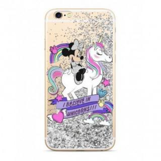 Disney Minnie 035 Glitter Back Cover Silver pro iPhone 6/6S
