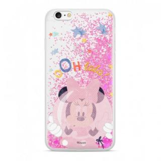 Disney Minnie 046 Glitter Back Cover Pink pro iPhone XR