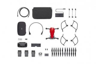 DJI dron MAVIC AIR Fly More Combo Onyx Flame Red - kvadrokoptéra
