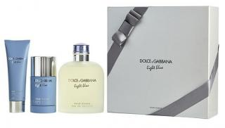 Dolce & Gabbana Light Blue Pour Homme - EDT 200 ml   sprchový gel 50 ml   tuhý deodorant 75 ml