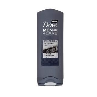 Dove Sprchový gel pro muže Men Care Charcoal & Clay (Body And Face Wash) 400 ml