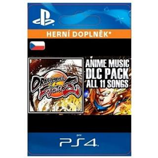 DRAGON BALL FIGHTERZ - Anime Music Pack - PS4 CZ Digital