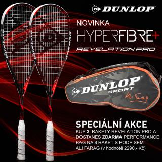 DUNLOP HYPERFIBRE  REVELATION PRO set