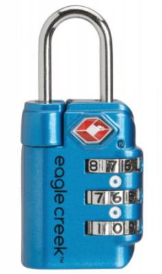 Eagle Creek Travel Safe TSA Lock Modrá