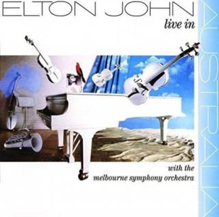 Elton John : Live In Australia With The Mebourne Symphony Orchestra LP