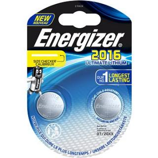 Energizer Ultimate Lithium CR2016 2pack