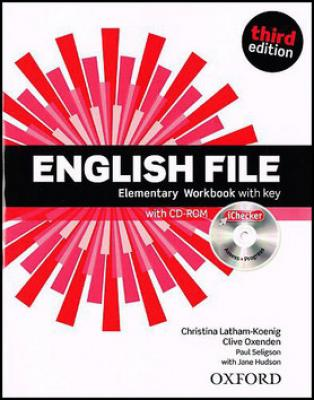 English File Elementary Workbook with key   iChecker CD-ROM - Oxenden Clive, Selingson Paul, Latham-Koenig Christina