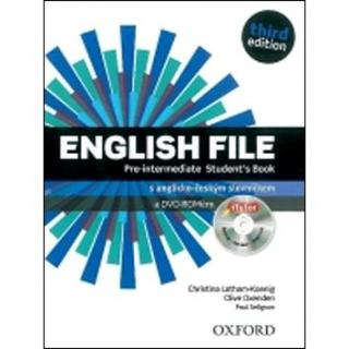 English File Pre-Intermediate Student´s Book   iTutor DVD-ROM Czech Edition: Third Edition