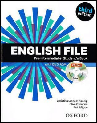 English File Pre-Intermediate Student´s Book   iTutor DVD-ROM - Selingson Paul, Latham-Koenig Christina, Oxenden Clive