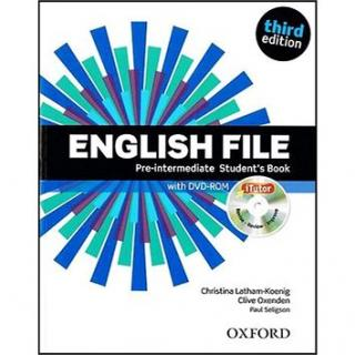 English File Pre-Intermediate Student´s Book   iTutor DVD-ROM: Third Edition