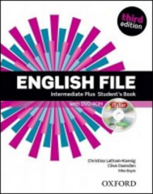 English File Third Edition Intermediate Plus Student´s Book with iTutor DVD-ROM - Oxenden Clive, Boyle Mark, Latham-Koenig Christina