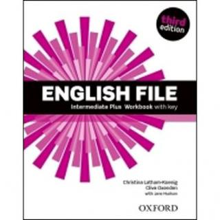 English File Third Edition Intermediate Plus Workbook with Answer Key