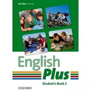 English Plus 3 Student´s Book (978-0-947485-8-2)
